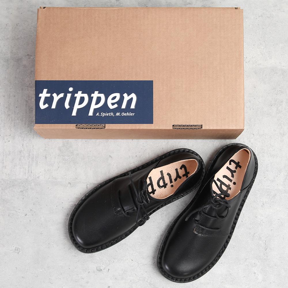 trippen|Haferl black