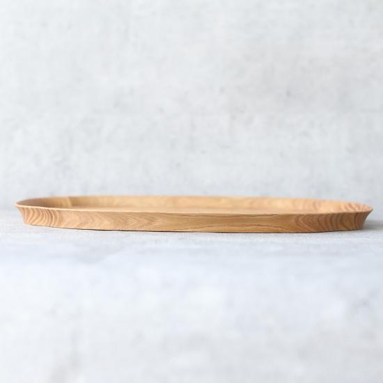 四十沢木材工芸|長木瓜盆 大