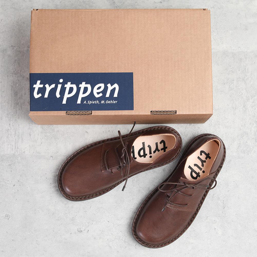 trippen Haferl brown