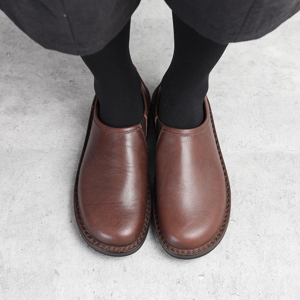 trippen Yen brown