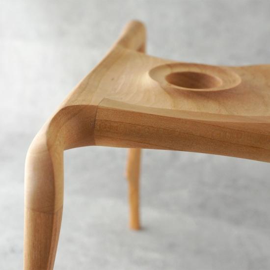 安土草多ペンダントライト専用 木製スタンド ロング