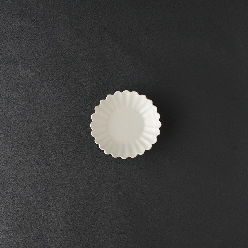 豊増一雄 手塩皿(菊)