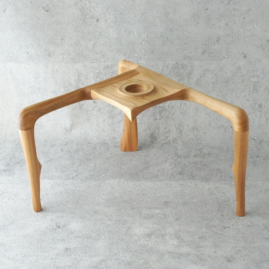 安土草多ペンダントライト専用 木製スタンド
