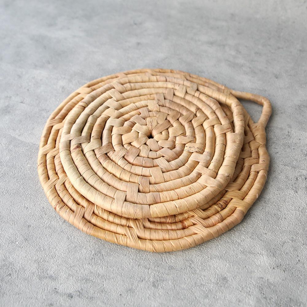 水草鍋敷き 小