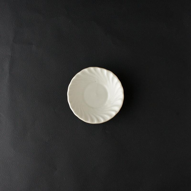 豊増一雄|手塩皿(波)