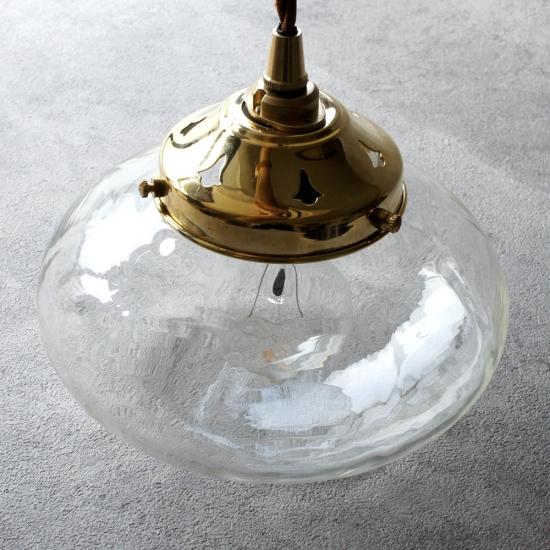 【予約注文】安土草多|ペンダントライト [E26] 平球 真鍮金具