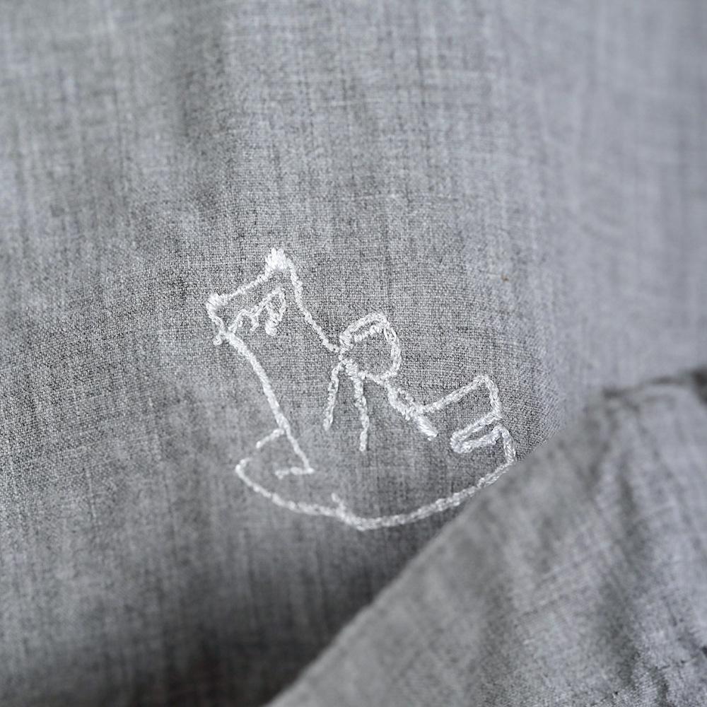玉木新雌 Sシャツ グレー