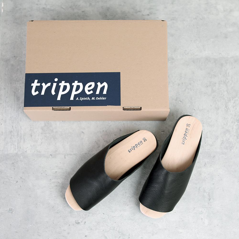 trippen|Hut black