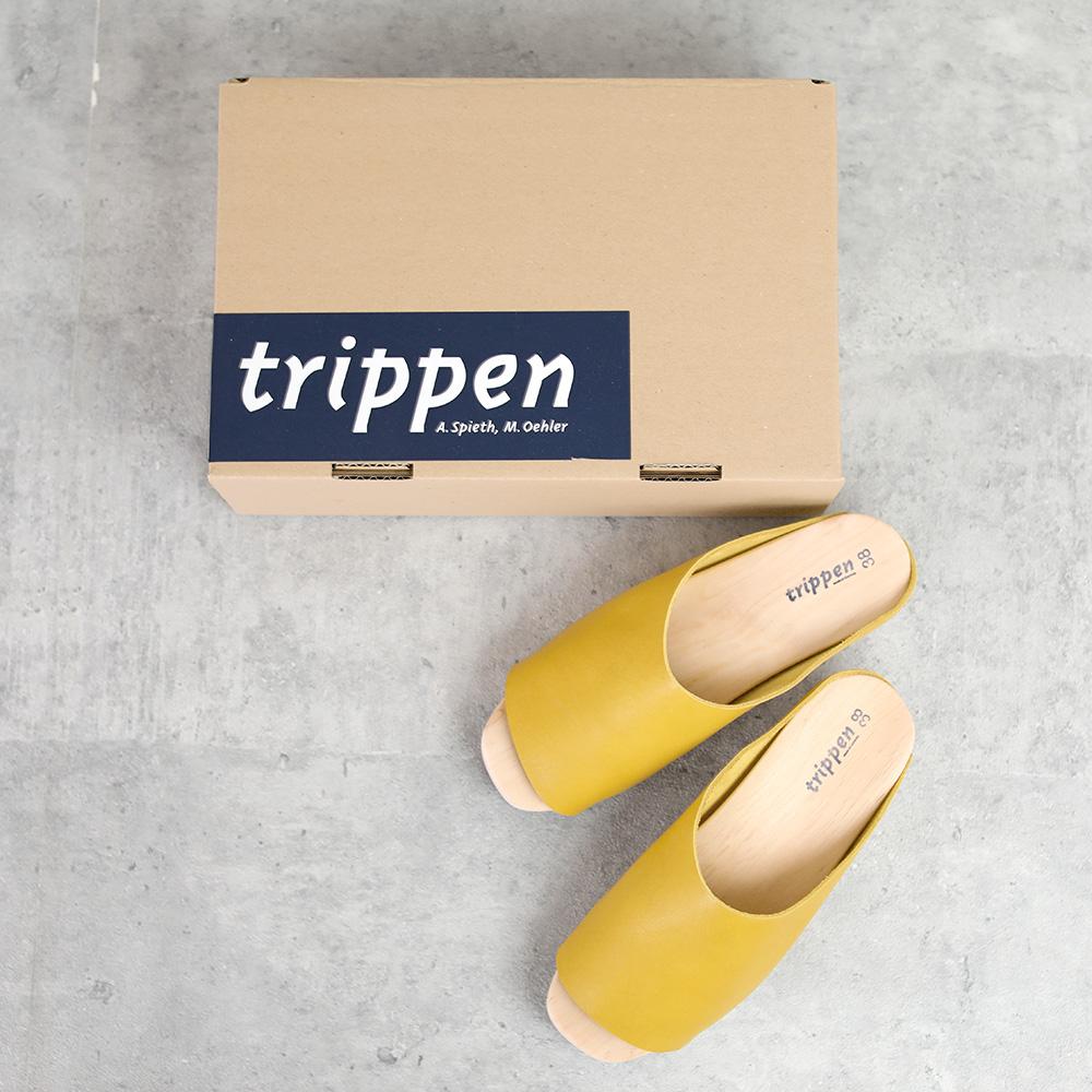 trippen|Hut olive