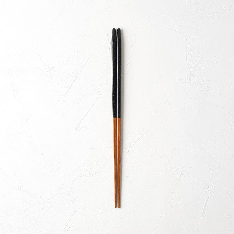 ヤマチク|うるし本乾漆カラー箸 23.5cm