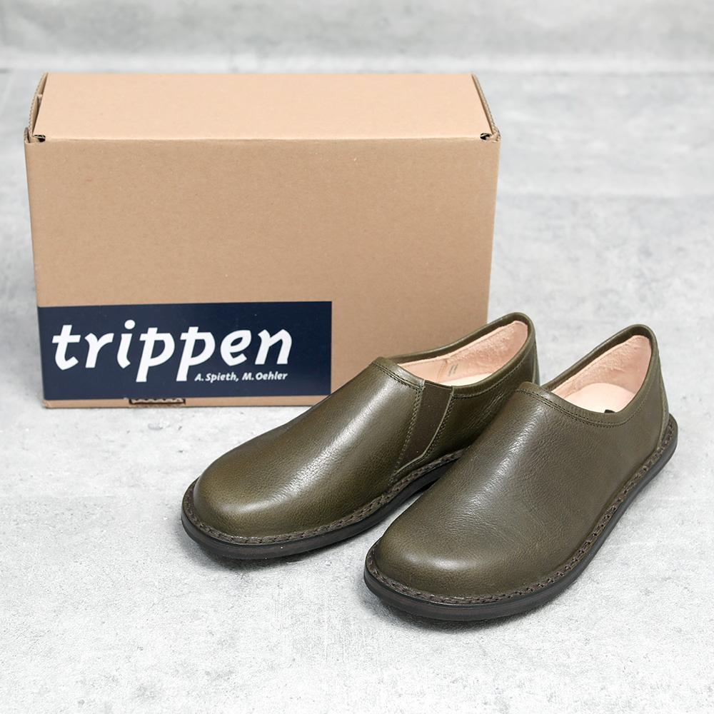 trippen|Yen khaki(別注カラー)