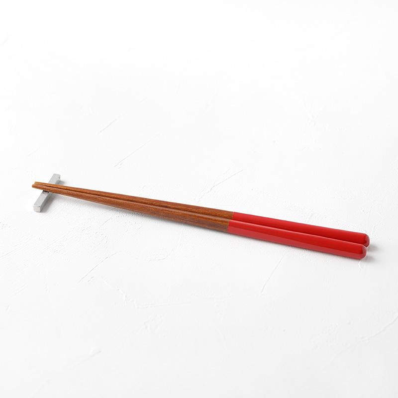 ヤマチク うるしがんこ箸 23cm