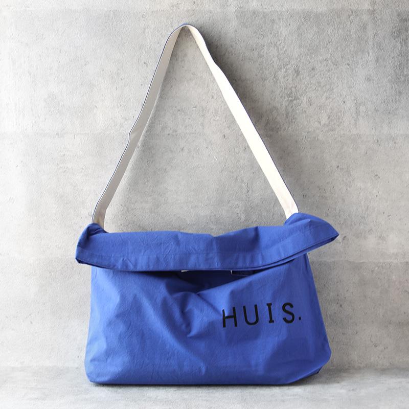 HUIS|バフクロス2WAYショルダーバッグ マリンブルー
