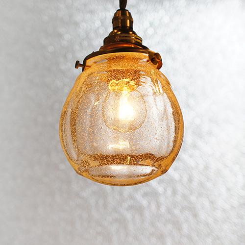 安土草多|ペンダントライト [E17] 球 泡