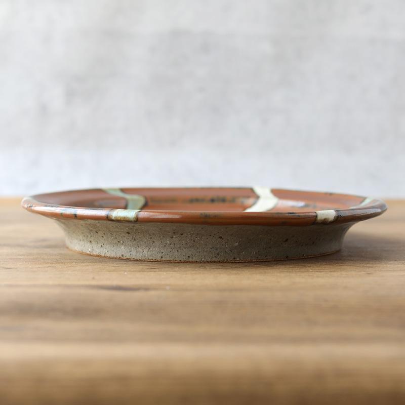 鈴木稔|リム皿A 27cm