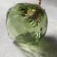 【予約注文】安土草多|ペンダントライト [E17] 角球 緑透き被せ