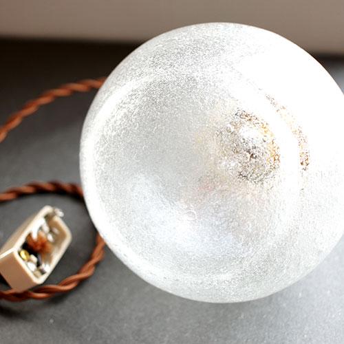 安土草多 ペンダントライト [E17] 球 大 泡