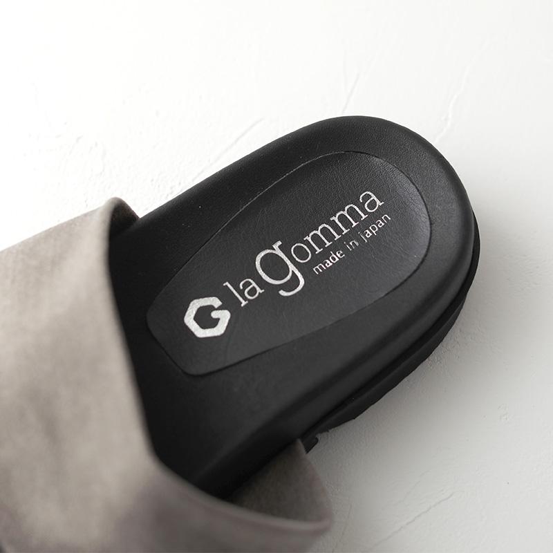 la gomma|トングサンダル デニムストレッチ gray