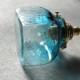 【予約注文】安土草多 ペンダントライト [E17] 角瓶 青透き被せ
