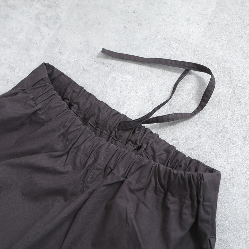 HUIS|バフクロスバルーンパンツ dark gray【ユニセックス】