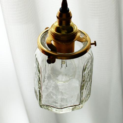 安土草多|ペンダントライト [E17] 八角筒瓶