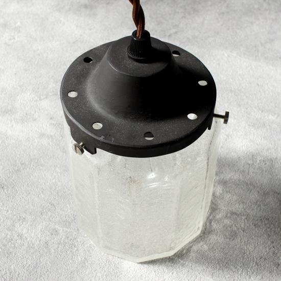 安土草多 ペンダントライト [E26] 十二角筒瓶 泡
