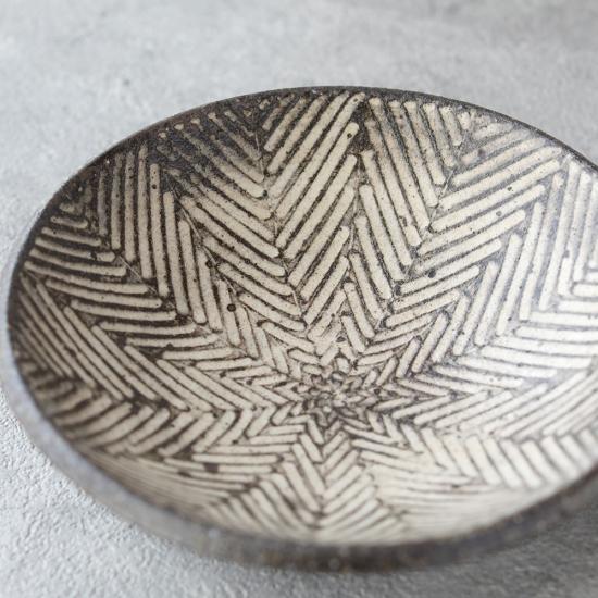 池田大介 ヘリンボーン 4寸鉢
