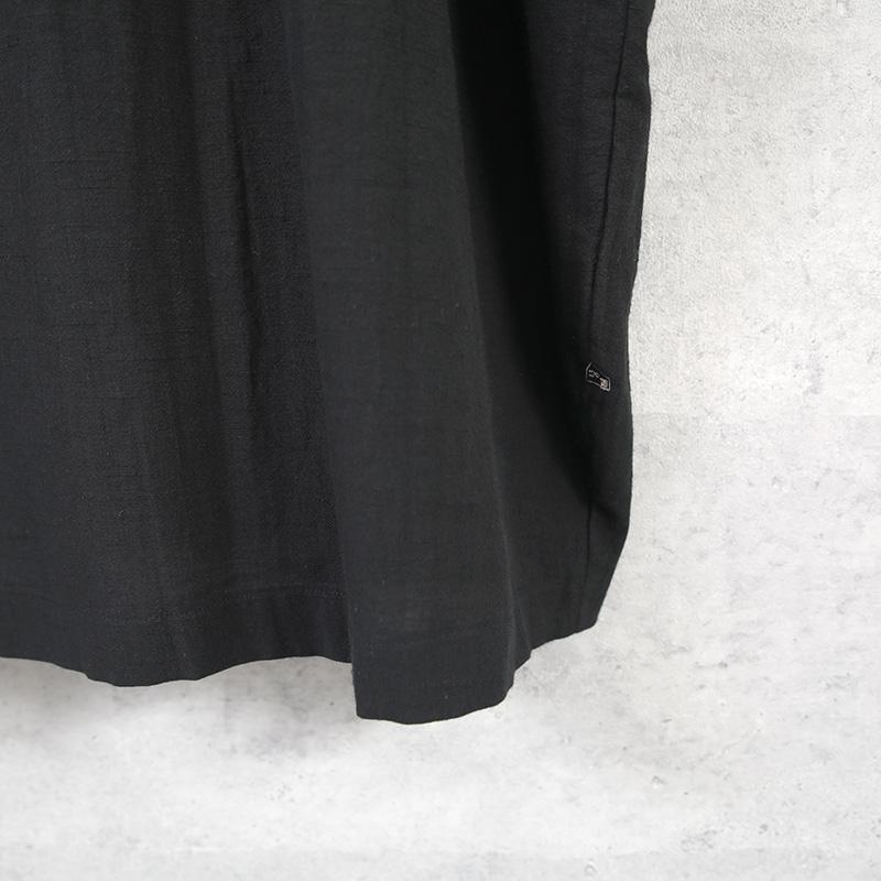 HUIS|レピアコクーンワンピース black