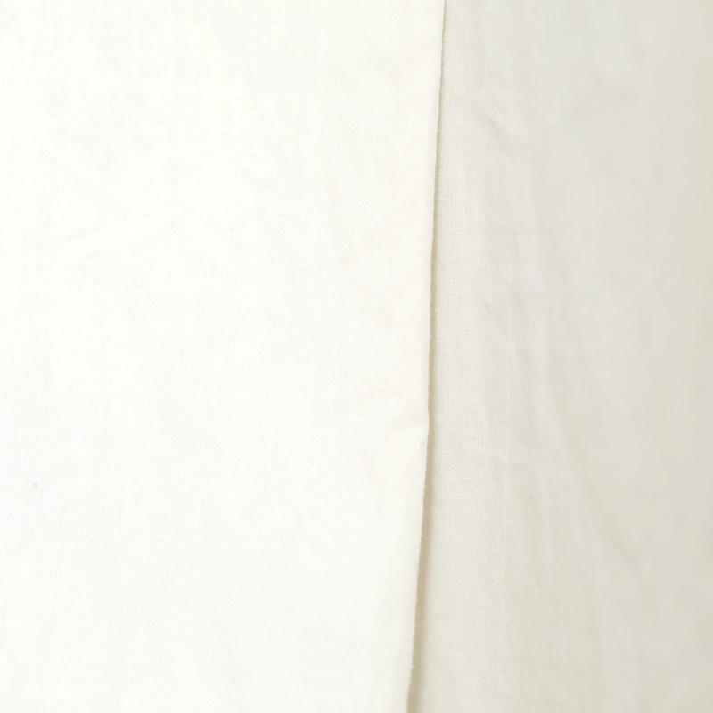 HUIS|オーガニックコットンスキッパーワンピース ivory