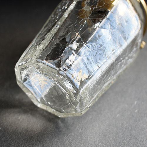 安土草多|ペンダントライト [E17] 八角瓶 クラック