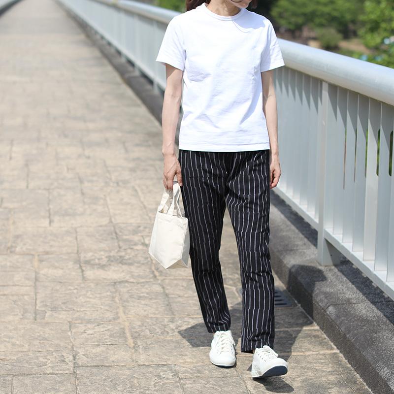 MONPE | Gap Stripe ブラック ずらしストライプ