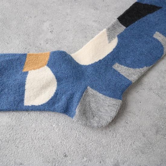 サルビア|ふんわりくつした つみき ブルー