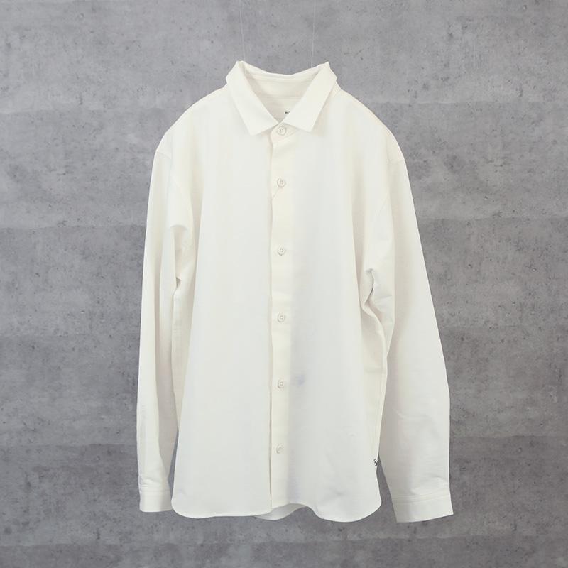 HUIS|スヴィンオックスフォードオーバーシャツ white【ユニセックス】