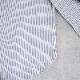 HUIS|空羽コードレーンワイドブラウス stripe blue