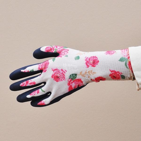 ウィズガーデンプレミアムシリーズ ルミナス【ローズ】(ガーデングローブ、レディース メンズ、園芸手袋) ※土セットと同梱可※