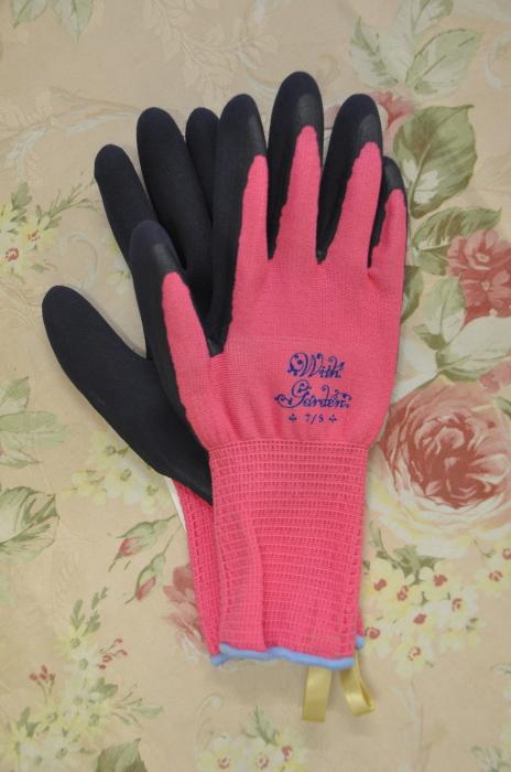 ウィズガーデン ステラ【ピンク】(ガーデングローブ、レディース メンズ、園芸手袋) ※土セットと同梱可※