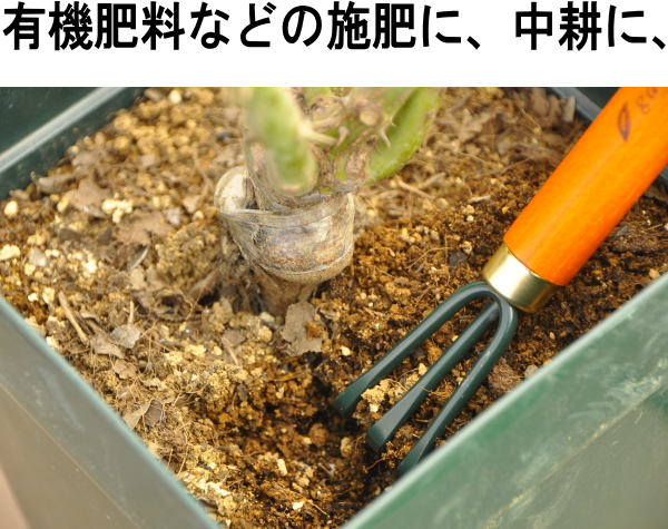 ガーデンヘルパー スチール製 根さばき ミニクマデ※土セットと同梱可※ ZIK-10000