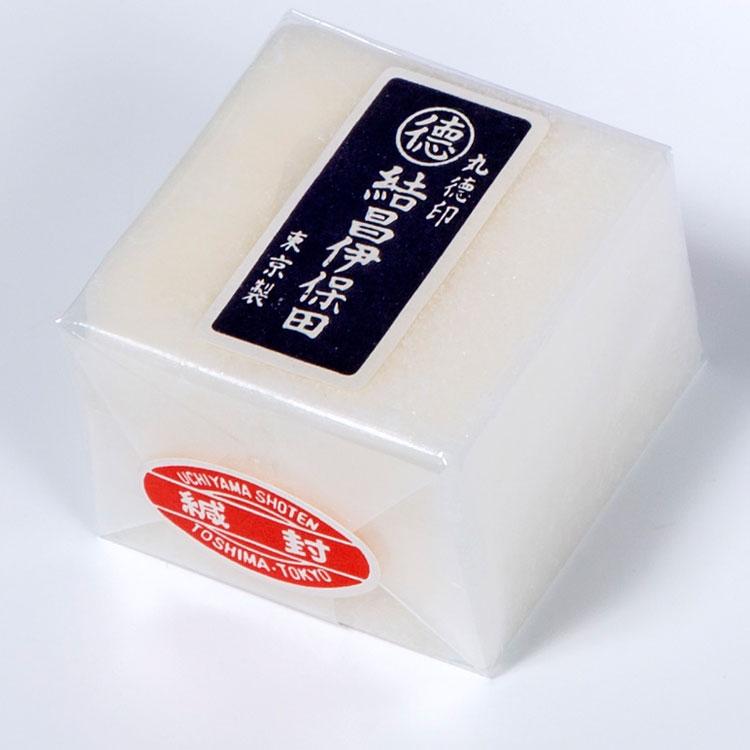結晶イボタ 伊保田 1個 桐タンス用スベリロー 寸法 4.8×4.8×3.3cm 最高級品 艶出し剤