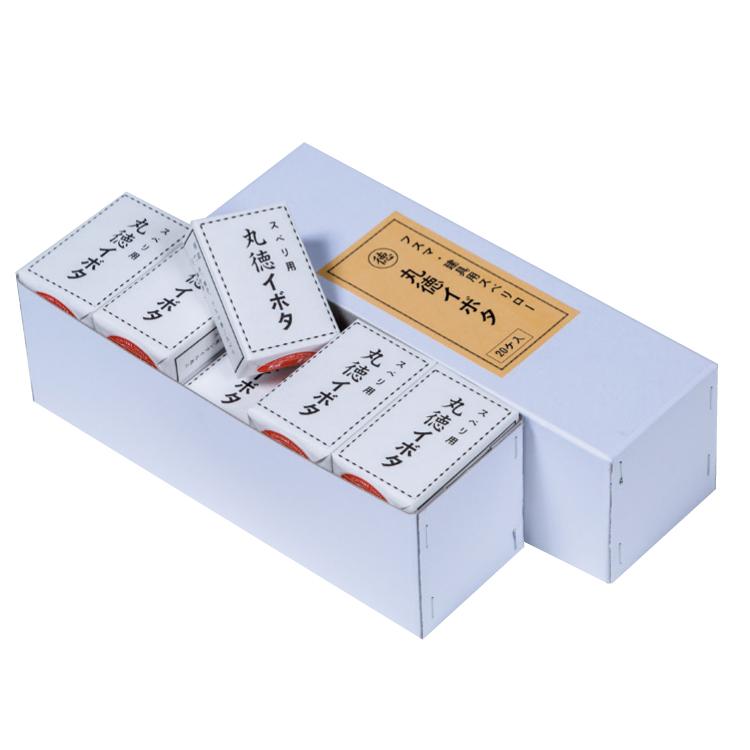 丸徳 イボタ(小) 1箱(20ヶ入) 家具・木工用スベリロー 寸法 4.0×6.6×2.0cm 艶出し剤 送料無料 まとめ