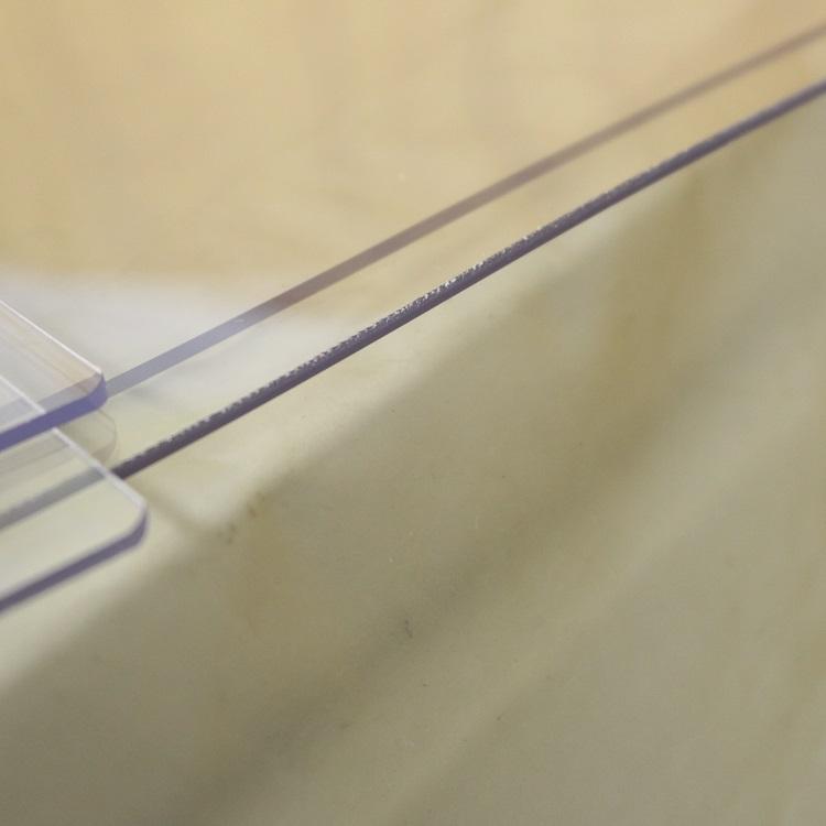アウトレット デスクマット 子供 学習机用 トーメイ両面非転写デスクマット 550×900mm 1.5mm厚 クリアー 訳アリ 透明 テーブルマット 勉強机 事務机 特別価格 送料無料 傷あり B品 ビニールシート クロス