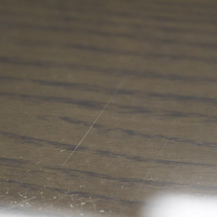 アウトレット デスクマット 紙の字写りしない 子供 勉強机 学習机 事務机 両面非転写デスクマット 非密着性タイプ 600×900mm 2mm厚 Bタイプ 透明 テーブルマット 透明マット テーブル 特別価格 送料無料 傷あり B品 ビニールシート クロス
