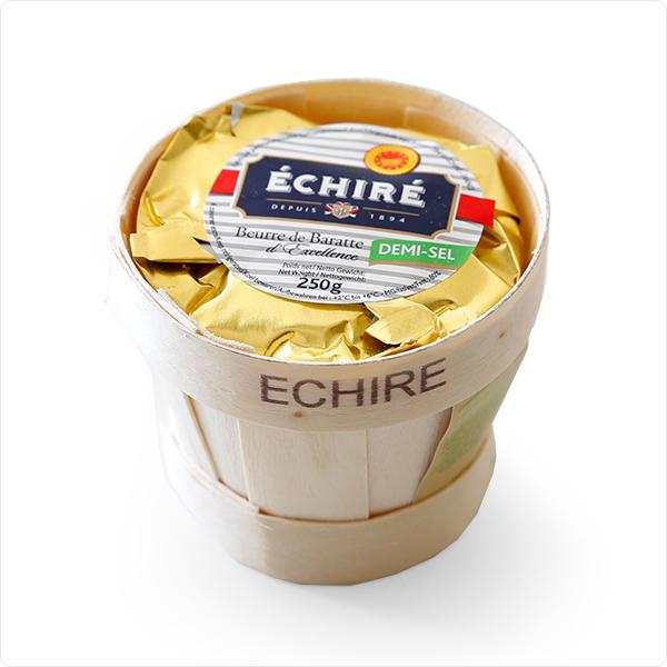 【エシレ バター】フランスAOP伝統エシレ有塩バター【250g】 Echire AOP Charentes Poitou DEMI-SEL フレッシュバター/冷蔵空輸品