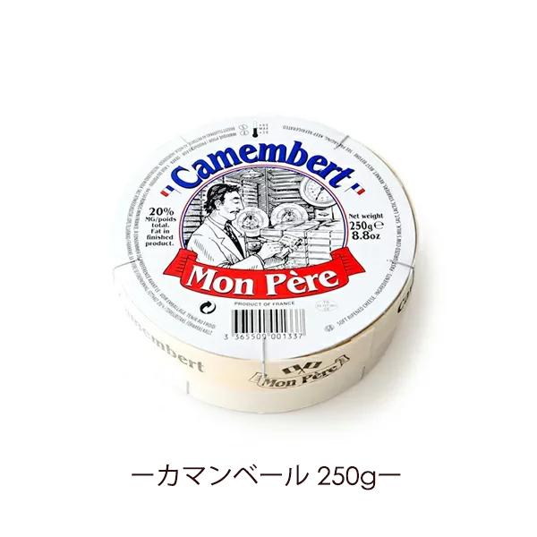 カマンベール カマンベールチーズ 250g モンペール社製 フランス