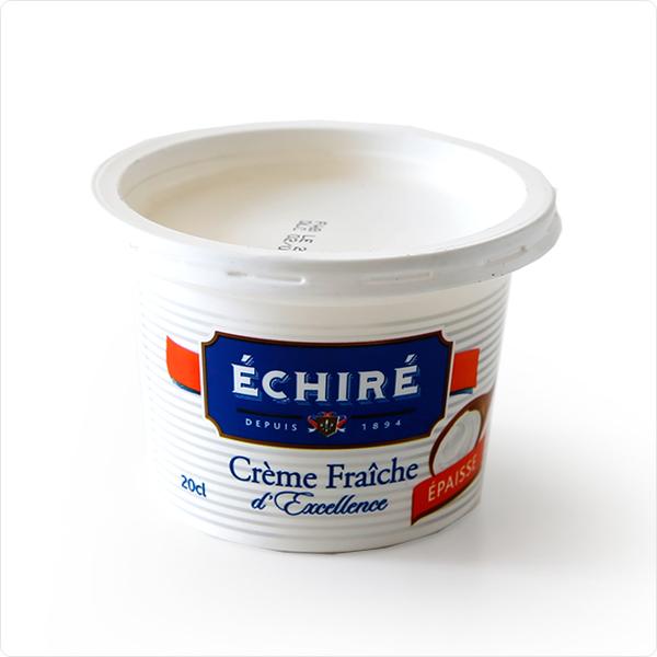 【エシレ】 フランスAOP伝統 エシレフレッシュクリーム 生クリーム (230g /内容量:200ml) Echire AOP Charentes Poitou/冷蔵空輸品