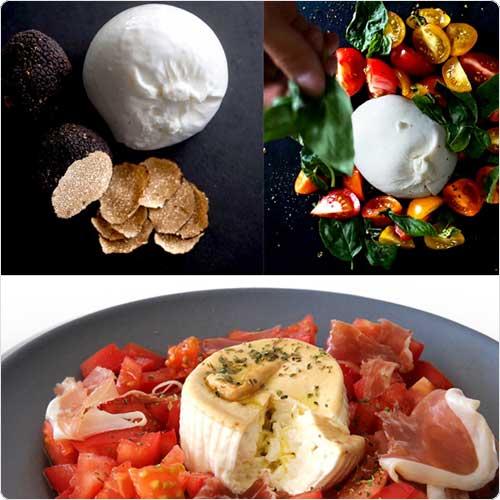 ブラータ 3種類 食べ比べセット チーズ 6個セット ブッラータ 生モッツァレッラ 100g イタリア産 【送料無料】