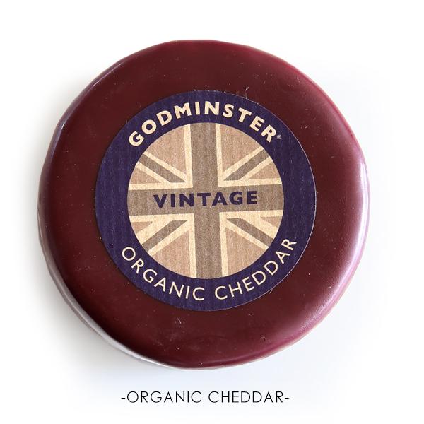 チェダーチーズ ビンテージチェダー イギリス オーガニックチーズ 高級  200g