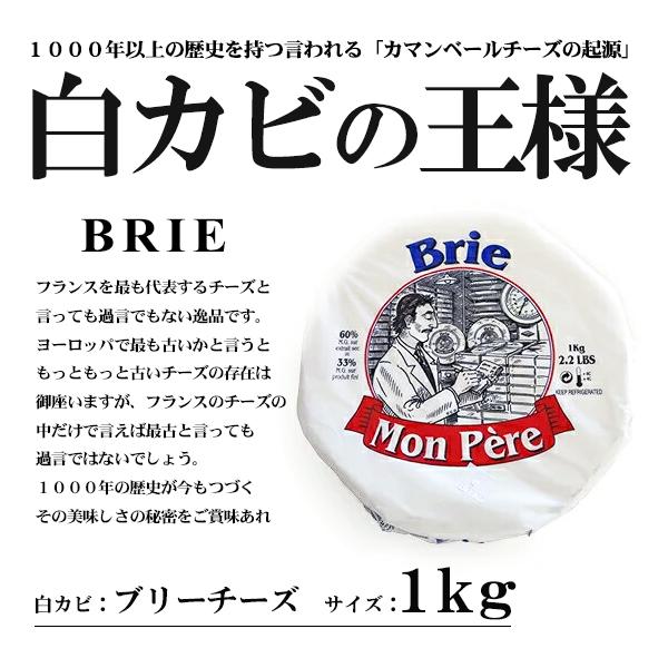 ブリーチーズ <br>フランス産 <br>モンペール社製<br>1000g