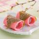 送料込! 春薫る和菓子の二段重 10個 賞味期間:30日間(冷凍) 【人気商品:お届け3/6以降になります】