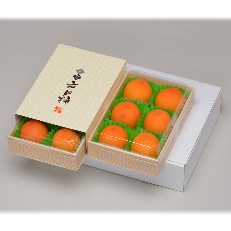 送料込!氷結市田柿12個【姫玉】(6個入×2)(冷凍便) 夏季限定:5月〜8月