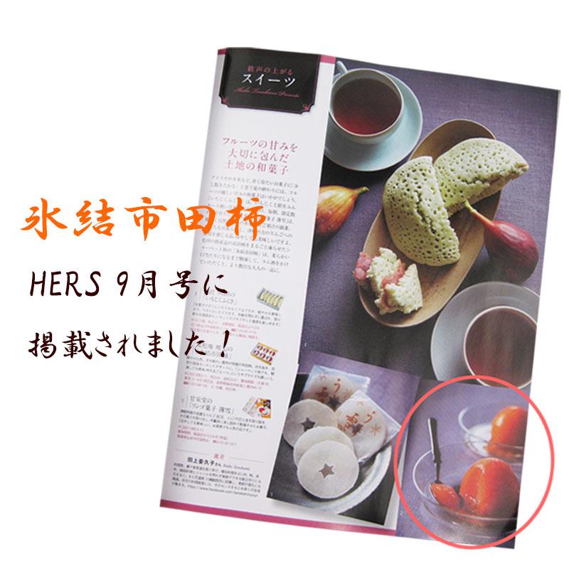 送料込!氷結市田柿 6個【特選大玉】 (冷凍便) 夏季限定:5月〜8月